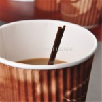Straw for hot coffee